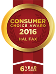 Consumer Choice Award 2014 - Halifax - 4 Year Winner