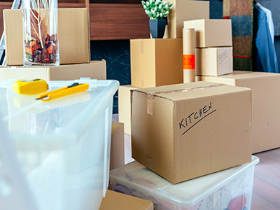 Preparing Items for Self-Storage